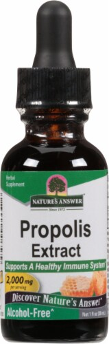 Nature's Answer Propolis Herbal Supplement 2000mg Perspective: front