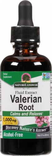 Natures Answer Valerian Root Extract 1000 mg Perspective: front