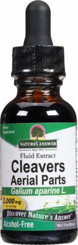 Nature's Answer Cleavers Herb Extract 2000mg Perspective: front