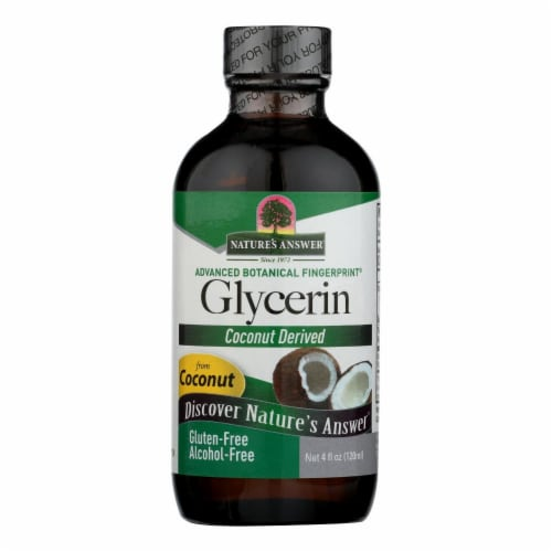 Nature's Answer Coconut Derived Glycerin Perspective: front