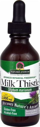 Nature's Answer Milk Thistle Extract 2000mg Perspective: front