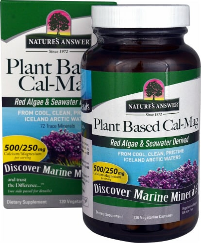 Nature's Answer  Plant Based Cal-Mag Perspective: front