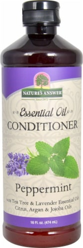 Nature's Answer Essential Oil Peppermint Conditioner Perspective: front