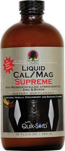 Nature's Answer Calcium&magnesium Supreme Perspective: front
