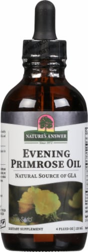 Nature's Answer Liquid Evening Primrose Oil Perspective: front