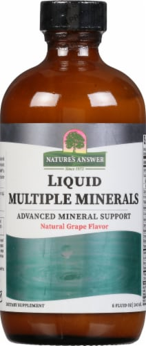 Nature's Answer Liq Multiple Minerals Perspective: front
