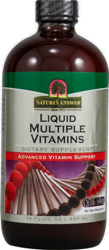 Nature's Answer Multi Vitamins Perspective: front