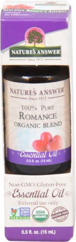 Nature's Answers Romance Essential Oil Perspective: front