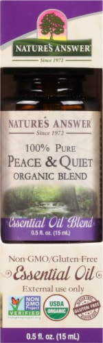 Nature's Answer Peace & Calming Essential Oil Perspective: front