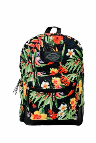 Dickies Colton Cotton Canvas Backpack - Tropical Paradise Perspective: front
