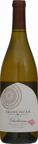 Franciscan Chardonnay White Wine Perspective: front