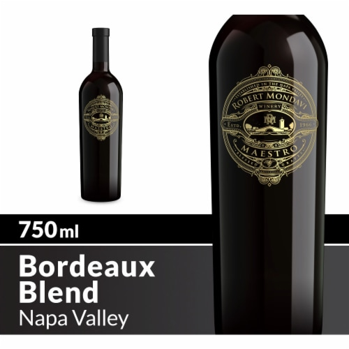 Robert Mondavi Winery Napa Valley Maestro Red Wine Perspective: front