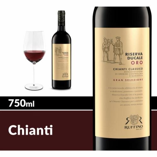 Ruffino Riserva Ducale Oro Gran Selezione Chianti Classico Red Wine Perspective: front