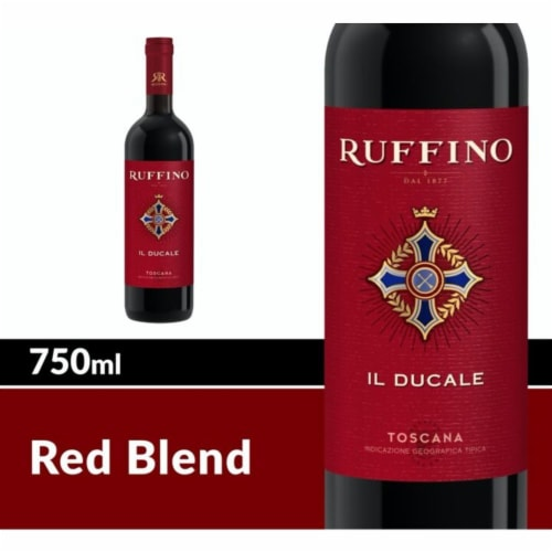 Ruffino II Ducale Toscana Red Wine Perspective: front