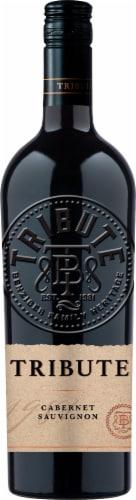 Tribute Cabernet Sauvignon Red Wine Perspective: front