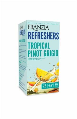 Franzia Refreshers Tropical Pino Grigo Box White Wine Perspective: front
