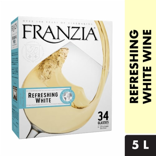 Franzia Refreshing White Wine Perspective: front
