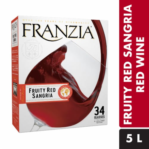 Franzia Fruity Red Sangria Perspective: front