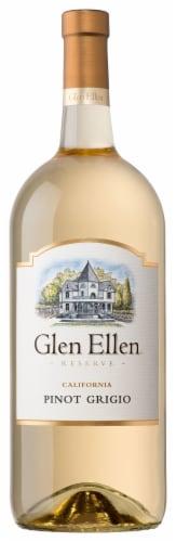 Glen Ellen Pinot Grigio White Wine Perspective: front
