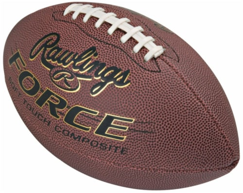 Rawlings Force Jr. 1.1 Football - Case Of: 1; Each Pack Qty: 1; Perspective: front