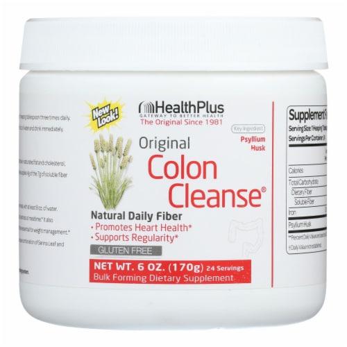 Health Plus - Colon Cleanse - Regular - 6 oz Perspective: front