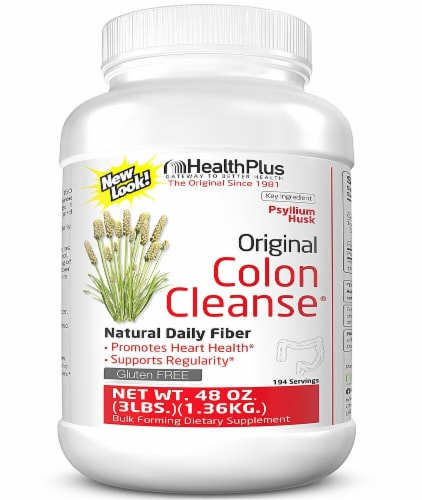 Health Plus  The Original Colon Cleanse® Perspective: front