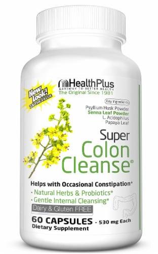 Health Plus  Super Colon Cleanse® Perspective: front