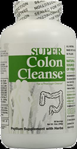 Health Plus Super Colon Cleanse Powder Perspective: front