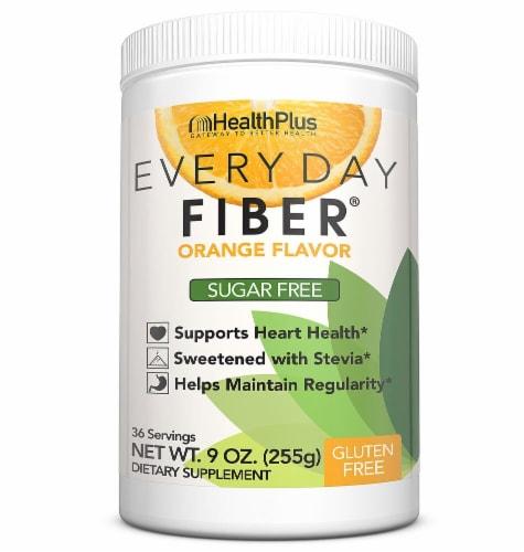 Health Plus  Everyday Fiber®   Orange Perspective: front