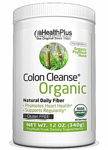 Health Plus  Colon Cleanse® Organic Perspective: front