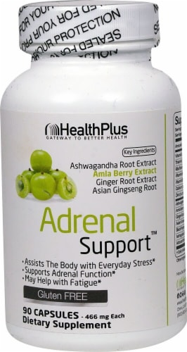 Health Plus  Adrenal Support™ Perspective: front