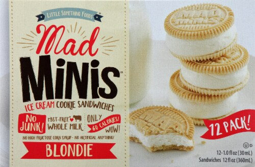 Mad Minis Mad Mini Blondie Sandwich 12 Count Perspective: front