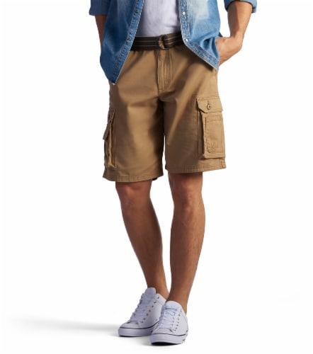 Lee Men's Wyoming Cargo Shorts - Bourbon Perspective: front