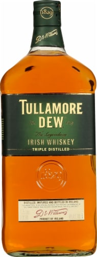 Tullamore Dew Triple Distilled Irish Whiskey Perspective: front