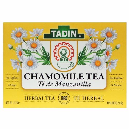 Tadin Manzanilla Chamomile Tea Perspective: front