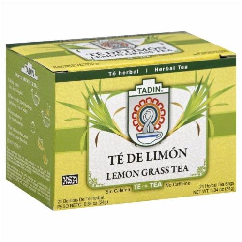 Tadin Lemon Grass Tea Perspective: front