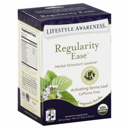 Lifestyle Aware Regularity Ease Original Natural tea Perspective: front