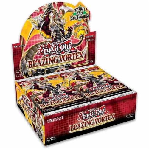 Yu-Gi-Oh! Blazing Vortex Booster Perspective: front