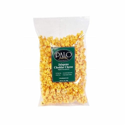 Palo Jalapeno Cheddar Popcorn Perspective: front