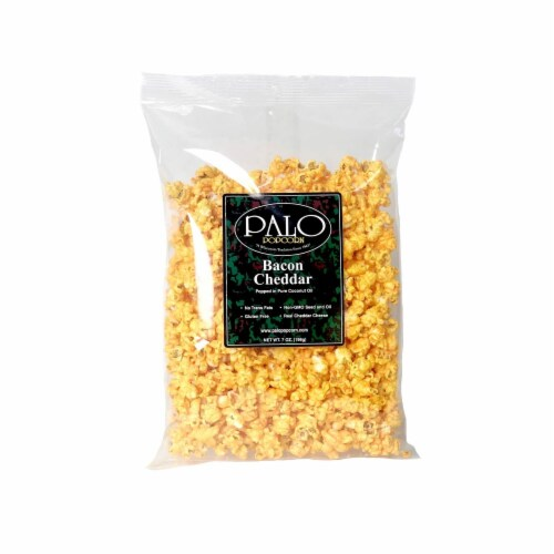 Palo Bacon Cheddar Popcorn Perspective: front