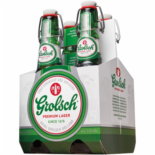 Grolsch Premium Lager Perspective: front