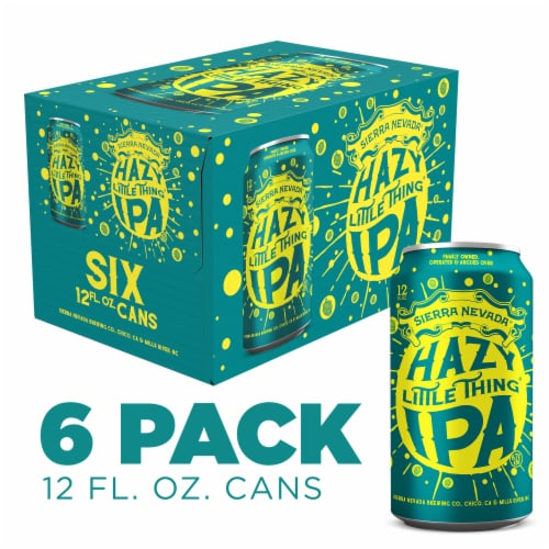 Sierra Nevada Brewing Co. Hazy Little Thing IPA Perspective: front