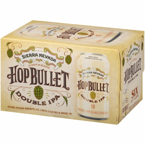 Sierra Nevada Brewing Co. Hop Bullet Double IPA Perspective: front