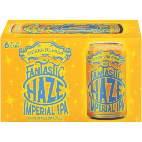 Sierra Nevada Fantastic Haze Imperial IPA Perspective: front
