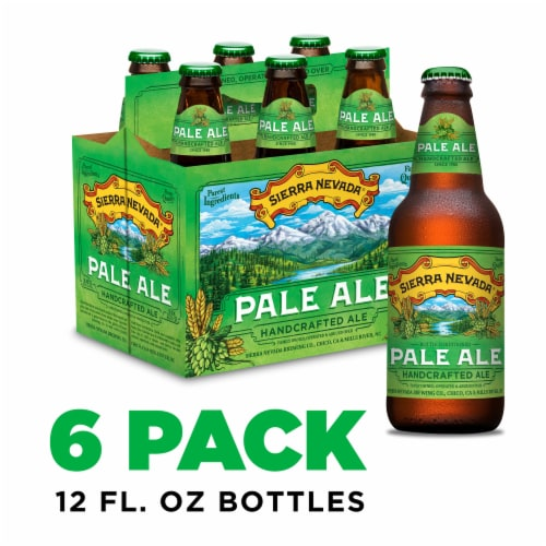 Sierra Nevada Brewing Co. Pale Ale Beer Perspective: front