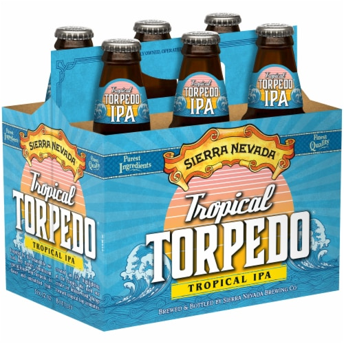 Sierra Nevada Brewing Co. Tropical Torpedo Tropical IPA Perspective: front