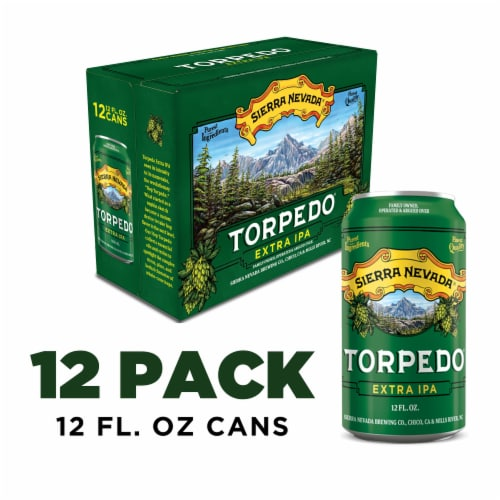Sierra Nevada Brewing Co. Torpedo Extra IPA Perspective: front