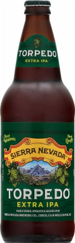 Sierra Nevada Brewing Co. Torpedo Extra IPA Beer Perspective: front