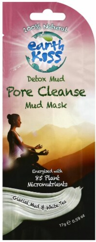 Earth Kiss Pore Cleanse Mud Mask Perspective: front