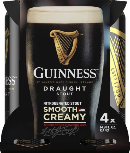 Guinness Draught Stout - 4 Pack Perspective: front